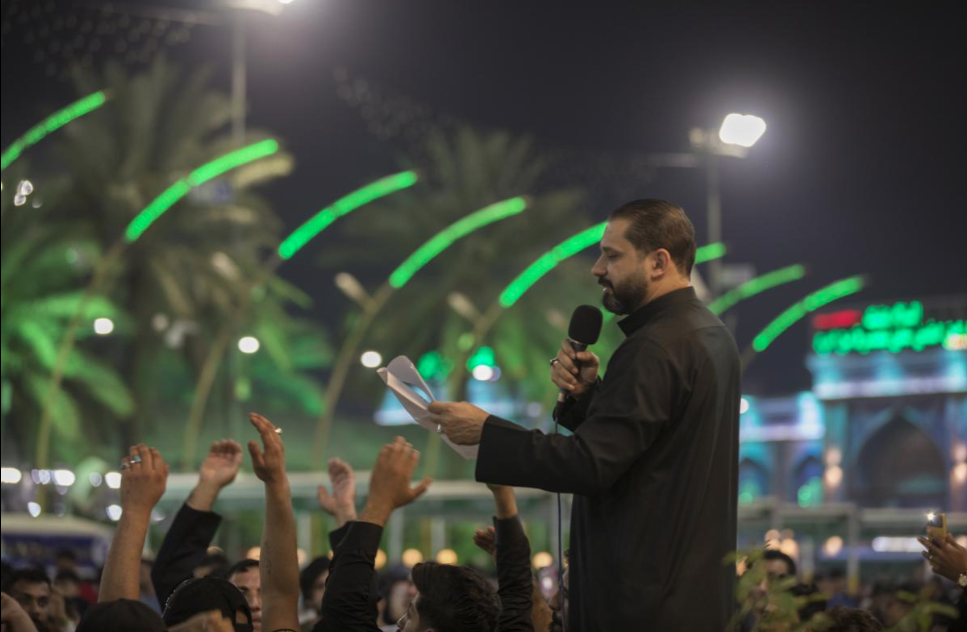 Commemoration of the sad anniversary of the demolition of Baqi' cemetery in the square between the two Holy Shrines.