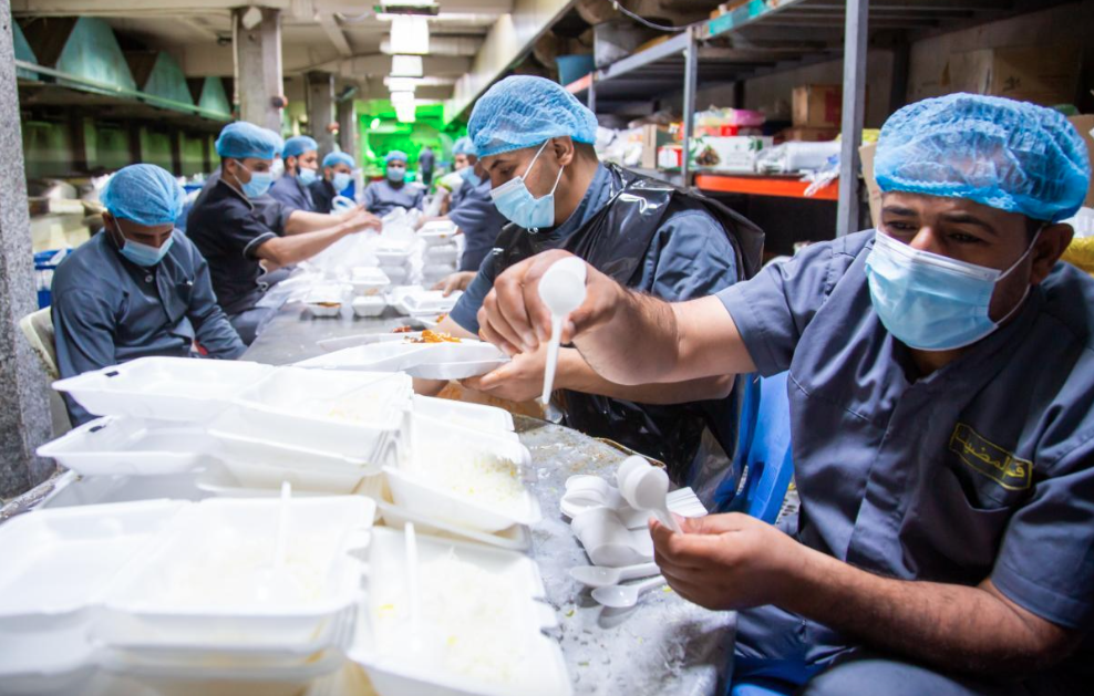 Within one month: the host restaurant of the al-Abbas's (AS) Holy Shrine served more than 150,000 meals.