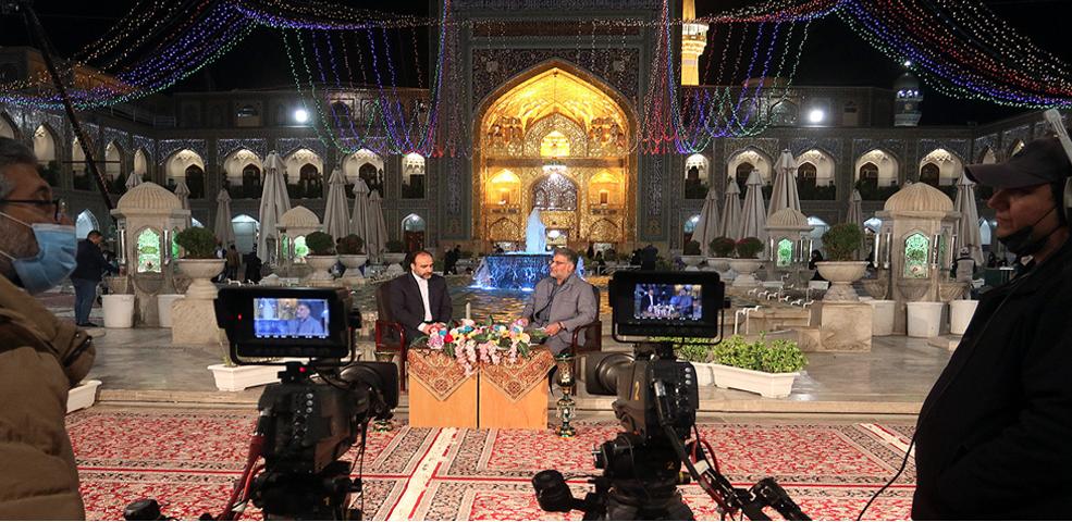 Forty TV channels cover AQR's Karamat Ten-Day Celebration at Imam Reza's(as) Holy Shrine
