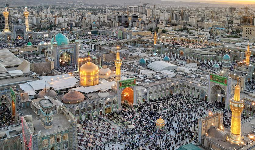 Imam Reza (AS) holy shrine, full of joy on the eve of his birth anniversary