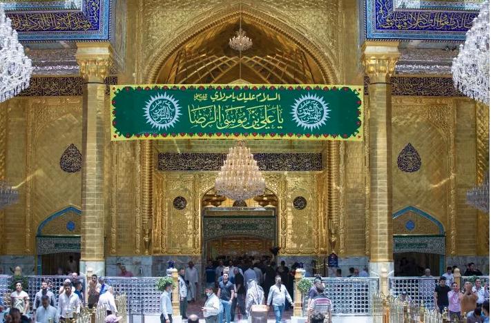 The al-Abbas's (AS) Holy Shrine celebrates the birth anniversary of Imam Ali Reza (AS)